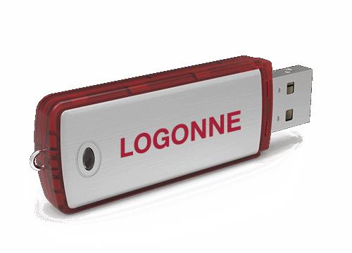 Classic - USB Muistitikku Omalla Logolla