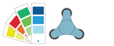 Pantone® Värikoodit  Fidget Spinner