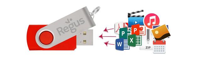 Flash Drive Tiedostojen esilataus