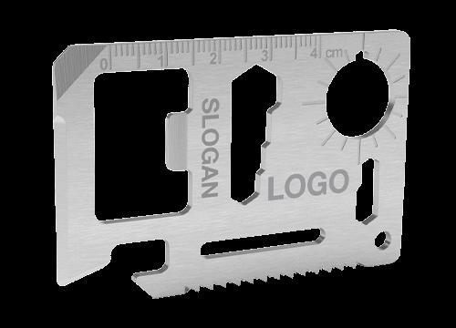 Kit - Brändätty Luottokortti Monitoimityökalu