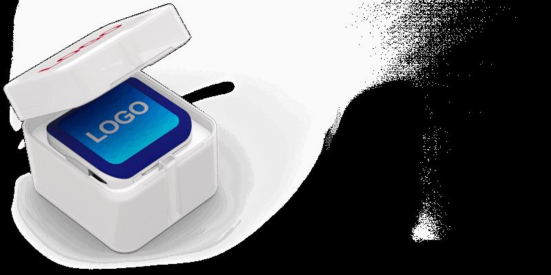 Boost - Varavirtalähde Logolla