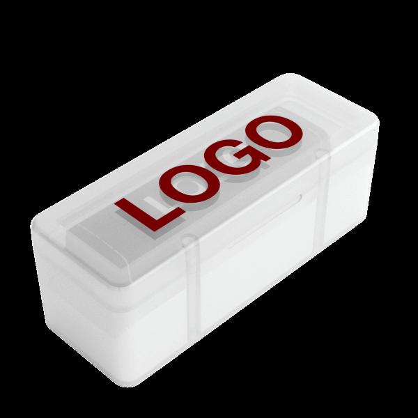 Lux - Varavirtalähde Logolla
