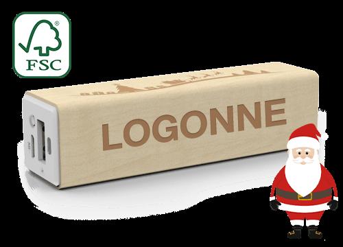 Maple Christmas - Power Bank Logolla