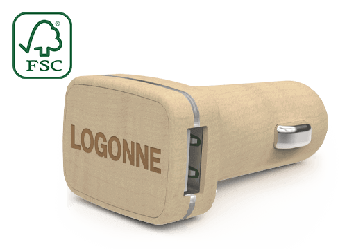 Woodie - Kustomoidut USB-Autolaturit