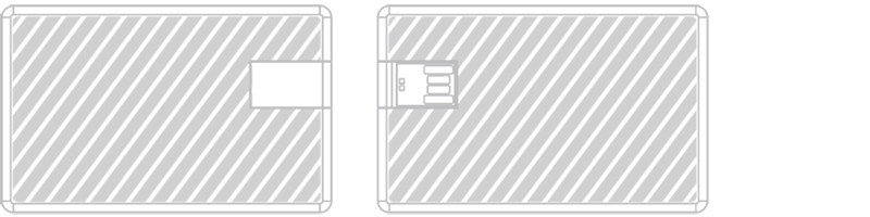 USB-muistikortti Laserkaiverrus