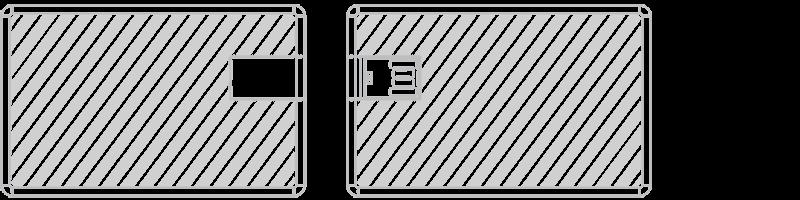 USB-muistikortti Silkkipainatus