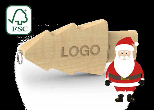 Christmas - Muistitikku Logolla Hinta
