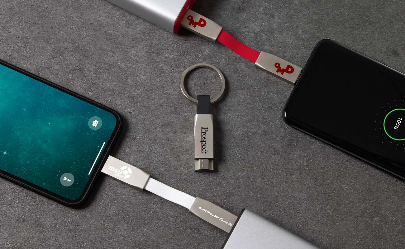 Connex - Promotionaalinen USB-Johtokimppu