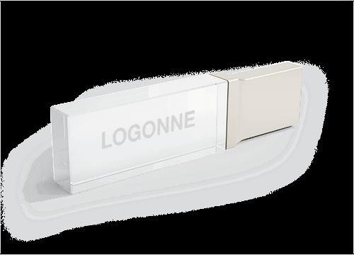 Crystal - Lasi USB tikku