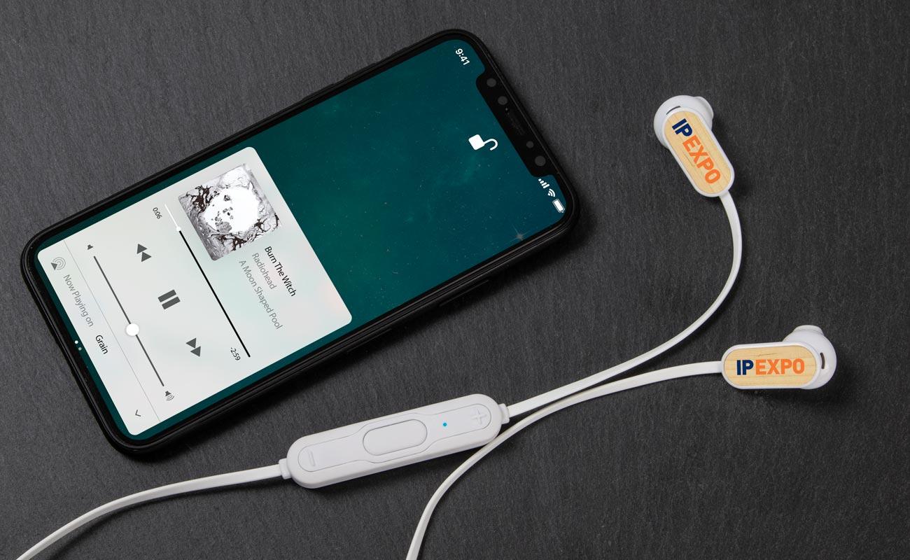 Grain Bluetooth® - Custom Wireless Earbuds