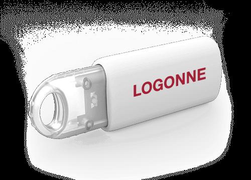 Kinetic - USB Muistitikkuja Logolla