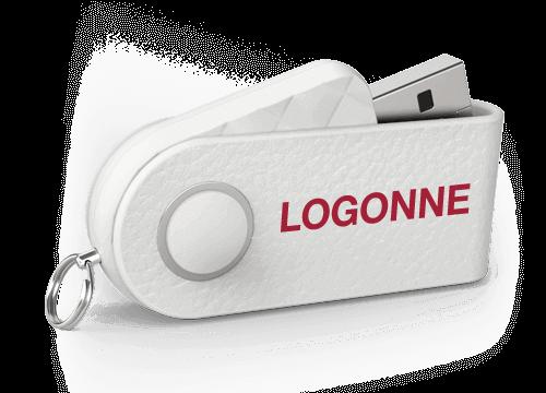 Milano - USB Muistitikkuja Logolla