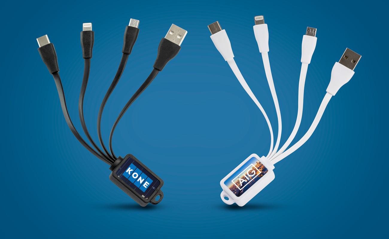 Multi - Kustomoitu Mustekala USB Kaapeli