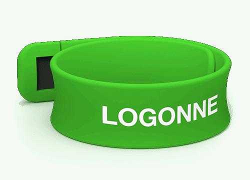 Slap - Kustomoitu USB Ranneke