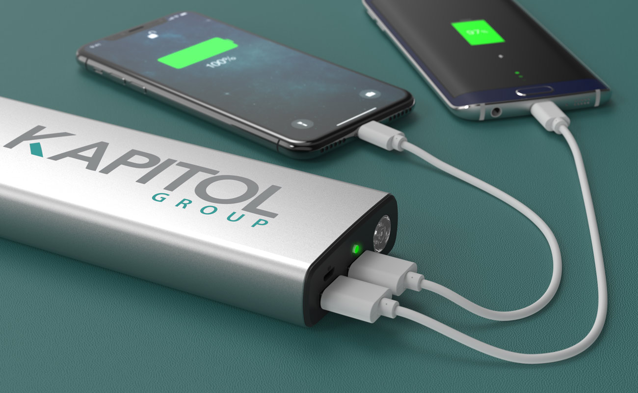 Titan - Power Bank Logolla