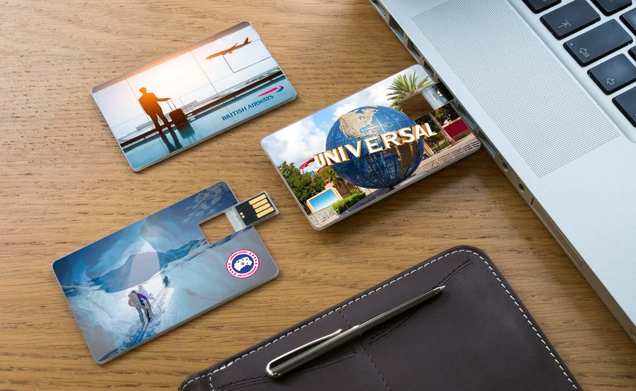 Wafer - USB Käyntikortti