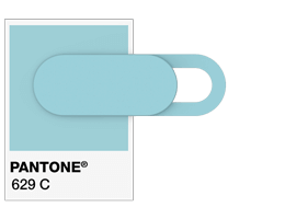 Pantone® Värikoodit  Webcam Suojus